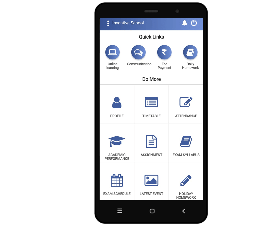Be The Smartschool with Inventive Mobile App
